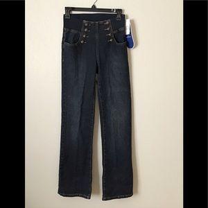 Diane Gilman Sailor Jeans